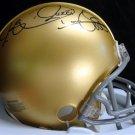 Raghib Rocket Ismail Autographed Signed Notre Dame Fighting Irish Mini Helmet TRISTAR