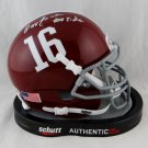 Ozzie Newsome Signed Autographed Alabama Crimson Tide Mini Helmet BECKETT