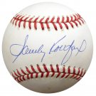 Sandy Koufax Los Angeles Dodgers Signed Autographed NL Baseball BECKETT
