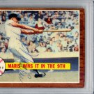 Roger Maris New York Yankees Signed Autographed 1962 Topps Card PSA