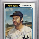 Thurman Munson Yankees Autographed Signed 1974 Topps Card BECKETT