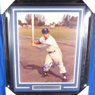 Roy Campanella Brooklyn Dodgers Signed Autographed Framed 16x20 Photo BECKETT