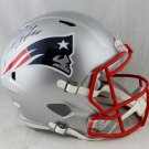 Josh Gordon Autographed Signed New England Patriots FS Speed Helmet JSA
