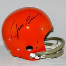 Jim Brown Cleveland Browns Signed Autographed Full Size Helmet BECKETT