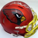 Kurt Warner Autographed Signed Arizona Cardinals Mini Helmet BECKETT