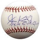 Jim Kaat Cardinals, Twins Signed Autographed Official Baseball BECKETT