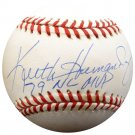 Keith Hernandez Cardinals, Mets Signed Autographed NL Baseball BECKETT