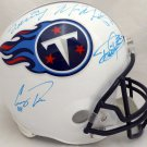 Marcus Mariota, Henry, Davis, Murray Signed Autographed Tennessee Titans Full Size Helmet BECKETT