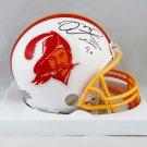 Mike Alstott Signed Autographed Tampa Bay Buccaneers Mini Helmet JSA