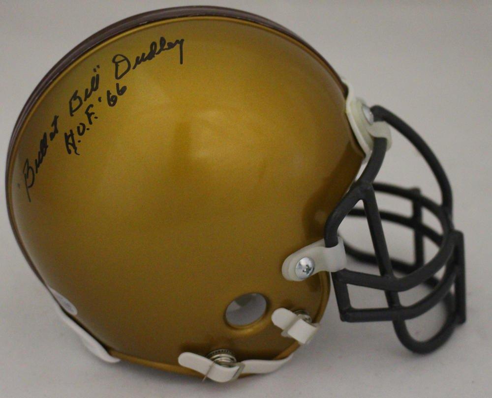 Bullet Bill Dudley Autographed Signed Throwback Washington Redskins Mini Helmet BECKETT