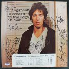 Bruce Springsteen & The E Street Band Autographed Signed Vintage Album Cover PSA/DNA