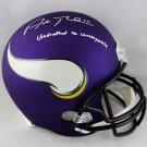 Adam Thielen Autographed Signed Minnesota Vikings Full Size Helmet JSA