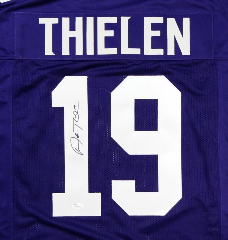 Adam Thielen Autographed Signed Minnesota Vikings Jersey JSA