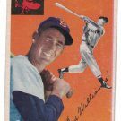 Ted Williams Boston Red Sox Vintage 1954 Topps Card