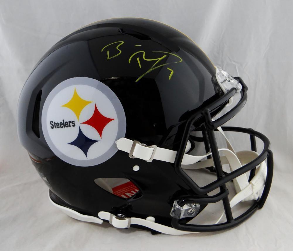 Ben Roethlisberger Autographed Signed Pittsburgh Steelers Full Size Proline Helmet FANATICS