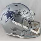 Ezekiel Elliott Signed Autographed Dallas Cowboys FS Speed Helmet BECKETT