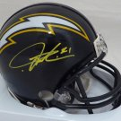 LaDainian Tomlinson Autographed Signed San Diego Chargers Mini Helmet BECKETT