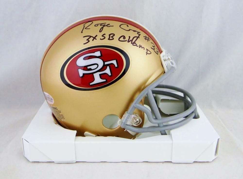 Roger Craig Autographed Signed San Francisco 49ers Mini Helmet BECKETT