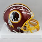 Darrell Green Autographed Signed Washington Redskins Mini Helmet JSA