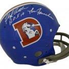 Floyd Little Autographed Signed Denver Broncos Full Size Helmet JSA