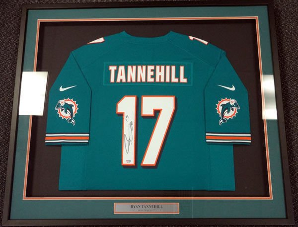 Ryan Tannehill Autographed Signed Miami Dolphins Nike Jersey PSA