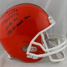 Ozzie Newsome Signed Autographed Cleveland Browns Full Size Helmet BECKETT