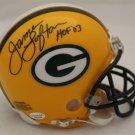 James Lofton Autographed Signed Green Bay Packers Mini Helmet JSA