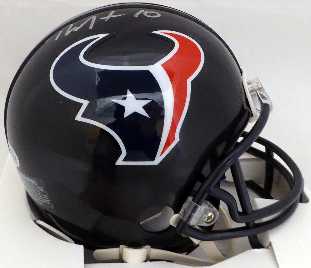 DeAndre Hopkins Autographed Signed Houston Texans Mini Helmet BECKETT