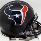 DeAndre Hopkins Autographed Signed Houston Texans Mini Helmet BECKETT