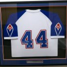Hank Aaron Autographed Signed Framed Atlanta Braves Jersey BECKETT
