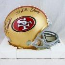 John Taylor Autographed Signed San Francisco 49ers Mini Helmet BECKETT