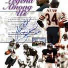 Walter Payton Chicago Bears Autographed Signed 8x10 Photo PSA