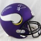 Adam Thielen and Stefon Diggs Autographed Signed Minnesota Vikings FS Helmet JSA