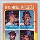 Doug DeCinces Mike Cubbage Signed Autographed 1975 Topps Rookie Card PSA