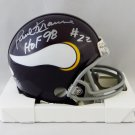 Paul Krause Autographed Signed Minnesota Vikings Mini Helmet JSA
