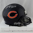 Mike Singletary Signed Autographed Chicago Bears Mini Helmet JSA
