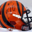 A. J. Green Autographed Signed Cincinnati Bengals Speed Mini Helmet BECKETT