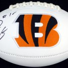 A. J. Green Autographed Signed Cincinnati Bengals Logo Football BECKETT