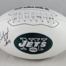 Richard Todd Autographed Signed New York Jets Logo Football JSA