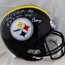 Rocky Bleier Signed Autographed Pittsburgh Steelers FS Helmet JSA