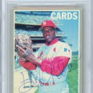 Bob Gibson Cardinals Signed Autographed 1970 Topps Card BECKETT