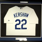 Clayton Kershaw Signed Autographed Framed Los Angeles Dodgers Jersey PSA/DNA