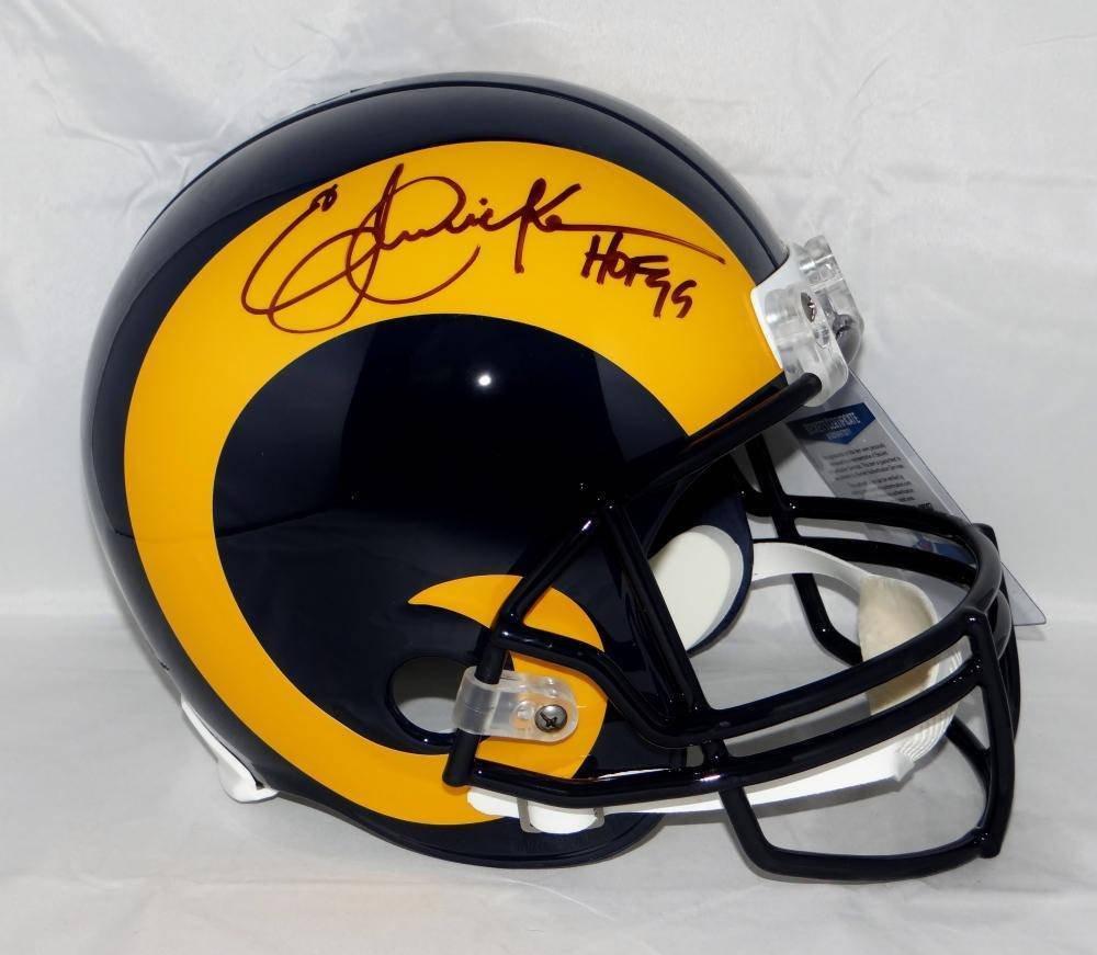 Eric Dickerson Autographed Signed Los Angeles Rams FS Helmet JSA