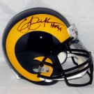 Eric Dickerson Autographed Signed Los Angeles Rams FS Helmet JSA