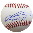 Vladimir Guerrero Expos, Angels Signed Autographed Official Baseball BECKETT