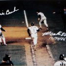 Mookie Wilson & Bill Buckner Mets Red Sox Autographed Signed 8x10 Photo JSA