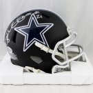Ezekiel Elliott Signed Autographed Dallas Cowboys Mini Helmet BECKETT