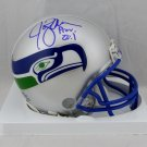 Jim Zorn Autographed Signed Seattle Seahawks Mini Helmet JSA