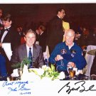 President George W. Bush & John Glenn Autographed Signed 8x11 Photo PSA