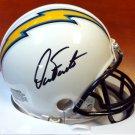 Dan Fouts Autographed Signed San Diego Chargers Mini Helmet PSA